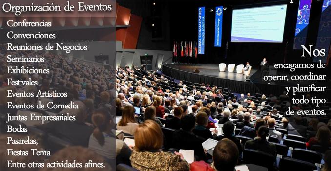 Contratar organizacion de eventos